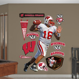 NCAA Russell Wilson Wisconsin Badgers Wall Decal Sticker Wall Decal