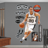 San Antonio Spurs Manu Ginobili Wall Decal Sticker Wall Decal