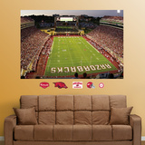 Arkansas Razorbacks Stadium Mural Decal Sticker Wall Decal