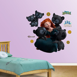 Brave Merida Cubs Wall Decal Sticker Wall Decal