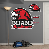NCAA Miami Redhawks 2013 Logo Wall Decal Sticker Wall Decal