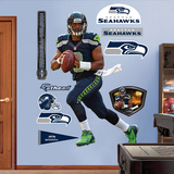 NFL Seattle Seahawks Russell Wilson 2012 Wall Decal Sticker Vinilo decorativo