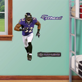 Baltimore Ravens Ray Lewis Junior Wall Decal Sticker Wall Decal