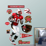 NCAA/NFLPA Maryland Terrapins Vernon Davis Wall Decal Sticker Wall Decal