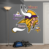 NFL Minnesota Vikings 2013 Logo Wall Decal Sticker Wall Decal