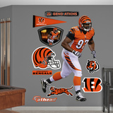 NFL Cincinnati Bengals Geno Atkins 2012 Wall Decal Sticker Wall Decal