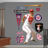 Washington Nationals Gio Gonzalez Wall Decal Sticker Wall Decal