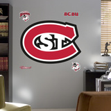 NCAA St. Cloud State University Logo Wall Decal Sticker Wall Decal