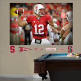 NCAA/NFLPA Stanford Cardinal Andrew Luck Mural Decal Sticker Wall Decal