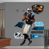 NFL Carolina Panthers Cam Newton 2012 Wall Decal Sticker Wall Decal