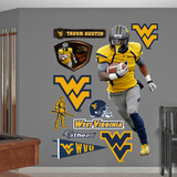 NCAA/NFLPA Tavon Austin West Virginia Mountaineers 2013 Wall Decal Sticker Wall Decal