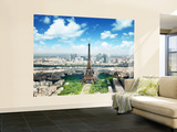 Eiffel Tower Wallpaper Mural