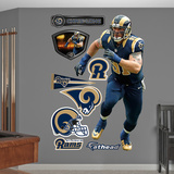 NFL St. Louis Rams Chris Long Wall Decal Sticker Wall Decal