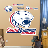 NCAA South Alabama Logo Wall Decal Sticker Wall Decal