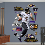 Baltimore Ravens Joe Flacco Super Bowl 47 MVP Wall Decal Sticker Wall Decal