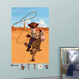 Toy Story Woody & Bullseye Mural Decal Sticker Wall Decal