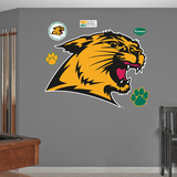 NCAA Northern Michigan Wildcats Wall Decal Sticker Wall Decal