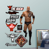 WWE Wrestling The Rock Wall Decal Sticker Wall Decal