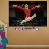 Gymnastics Jordyn Wieber Leap Mural Decal Sticker Wall Decal
