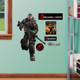 Gears of War4 Baird Junior Wall Decal Sticker Wall Decal
