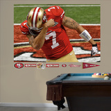 San Francisco 49ers Colin Kaepernick Super Bowl 47 Kaepernicking Mural Decal Sticker Wall Decal