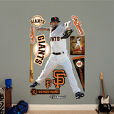 San Francisco Giants Sergio Romo Wall Decal Sticker Wall Decal