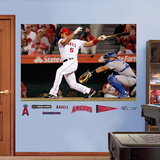 Los Angeles Angels Albert Pujols 2012 Mural Decal Sticker Wallstickers