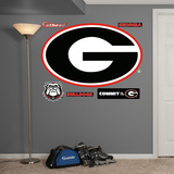 NCAA Georgia Bulldogs 2013 Logo Wall Decal Sticker Wall Decal