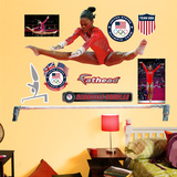 Gymnastics Gabby Douglas - Bars Wall Decal Sticker Wall Decal