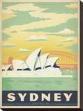 Sydney, Austrália Impressão em tela esticada por  Anderson Design Group