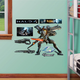 Knight Halo 4 - Fathead Jr. Wall Decal Sticker Wall Decal
