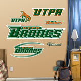 NCAA Texas Pan America Logo Wall Decal Sticker Wall Decal