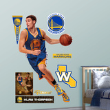 Golden State Warriors NBA Klay Thompson 2012 Wall Decal Sticker Kalkomania ścienna