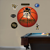 NCAA Wake Forest Demon Deacon Basketball Logo Wall Decal Sticker Wall Decal