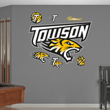 NCAA Towson University Logo Wall Decal Sticker Wall Decal