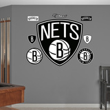 NBA Brooklyn Nets 2012 Wall Decal Sticker Wall Decal