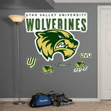 NCAA Utah Valley University Logo Wall Decal Sticker Wall Decal