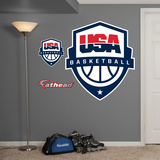 USA Basketball Logo Wall Decal Sticker Wall Decal