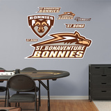 NCAA St. Bonaventure Bonnies Logo Wall Decal Sticker Wall Decal