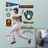 Milwaukee Brewers Paul Molitor Wall Decal Sticker Wall Decal
