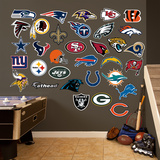 NFL 2013 Logo Collection Wall Decal Sticker Wall Decal