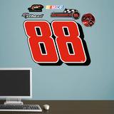 Nascar Dale Earnhardt Jr. 88 Logo Wall Decal Sticker Wandtattoo