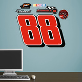 Nascar Dale Earnhardt Jr. 88 Logo Wall Decal Sticker Wall Decal