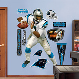 NFL Carolina Panthers Carolina Panthers - Cam Newton Wall Decal Sticker Wall Decal