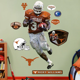 NCAA/NFLPA Texas Longhorns Ricky Williams Wall Decal Sticker Wall Decal