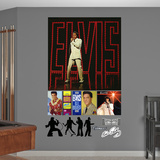 Elvis 68 Special Album Cover Mural Decal Sticker Wall Decal