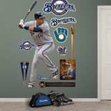 Milwaukee Brewers Aramis Ramirez Wall Decal Sticker Wall Decal