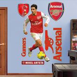 Arsenal Mikel Arteta Wall Decal Sticker Wall Decal