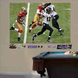 Baltimore Ravens Jacoby Jones Super Bowl 47 Return Mural Decal Sticker Wall Decal
