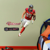 Houston Texans J.J. Watt - Fathead Jr Wall Decal Sticker Wall Decal